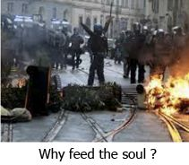 Why feed the soul en